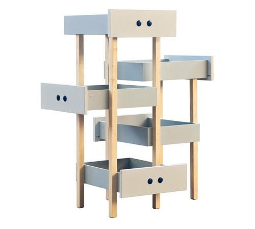 Repurposed drawer condo