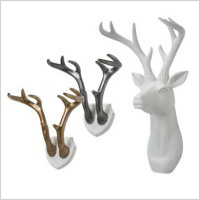 Stag head collection