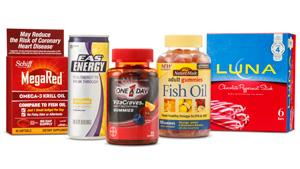 Target Vitamins selection