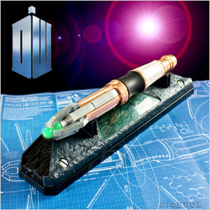 Doctor Who Sonic Screwdriver Universal Remote Controls
