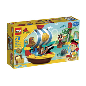 LEGO pirate set