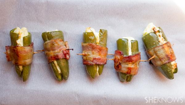 Jalapeño bacon poppers