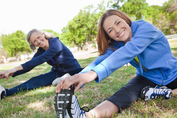 Active healthy women