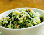 Kale and Olive Oil Mashed Potatoes