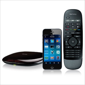 Logitech Harmony Smart Control with Smartphone App and Simple Remote