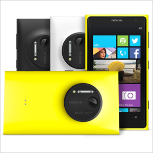 The Nokia Lumia 1020