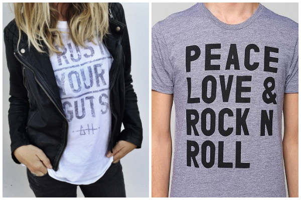 2014 fashion trends- statement tees
