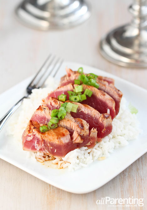 allParenting Soy-marinated grilled tuna