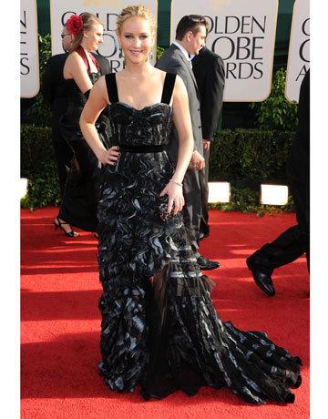 Golden Globes- Jennifer Lawrence