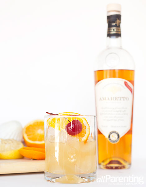 allParenting Amaretto sour cocktail