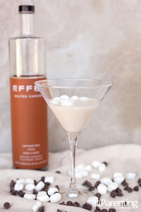 allParenting Salted caramel rocky road martini