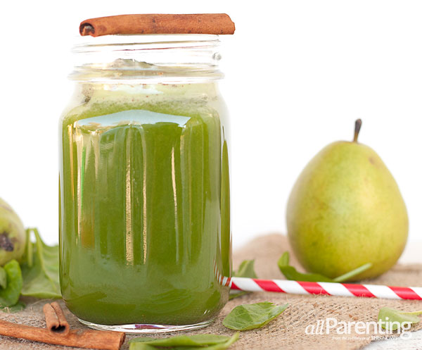allParenting green juices: Cinnapear