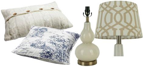 Recreate Olivia Pope's apartment- accessories