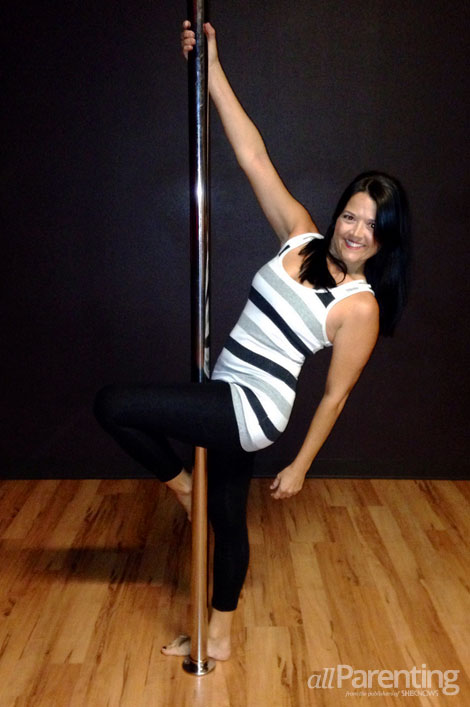 allParenting Molly Smith pole class