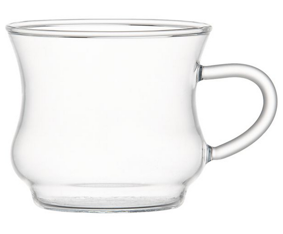hot drink glass from Crate and Barrel