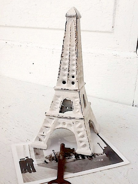 Eiffel Tower, Shabby Chic, Cast Iron Décor