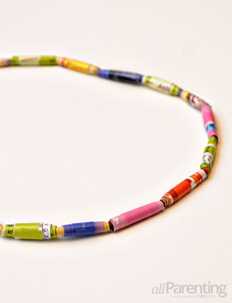 allParenting Magazine bead necklace