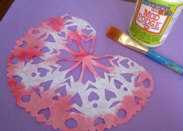 Snowflake Valentines
