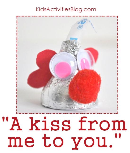 Kisses for Valentine's Day