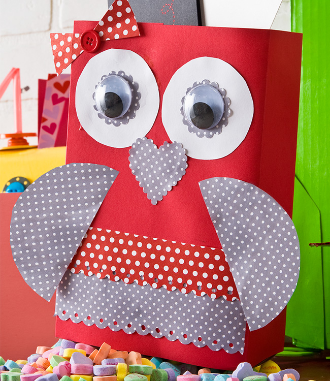 Isnu0027t this a hoot?  sc 1 st  allParenting & Pinterest-inspired Valentineu0027s Day craft roundup for kids Aboutintivar.Com