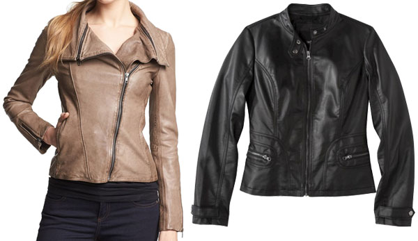OXford shirt styling- leather jackets