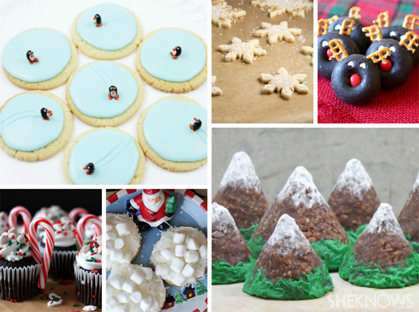 6 Snowy sweets for a kids party