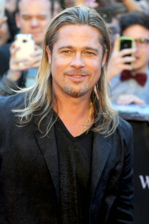 Brad Pitt has no complaints at age 50
