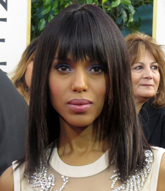 Kerry Washington at 2013 Golden Globe Awards