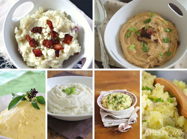 Mashed potato recipes from SheKnows.com
