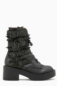Edgy boots -- (NastyGal, $260)