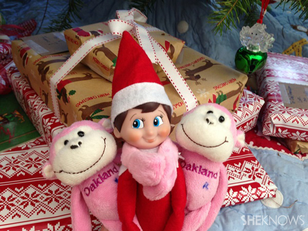 elf with buddies