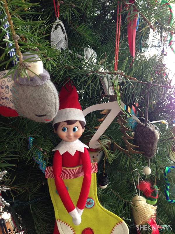elf in tree