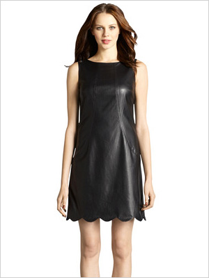 Shop the look: Muse Perforated Faux Leather Dress (museapparel.com, $99)