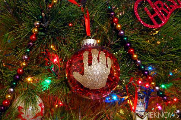 Christmas homemade ornament