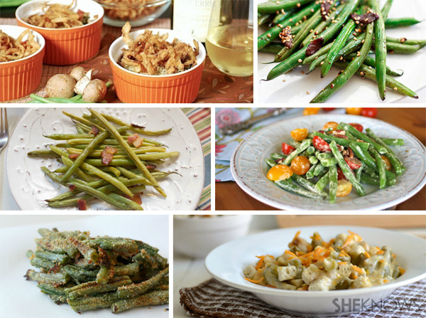 Green bean recipes from SheKnows