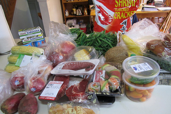 Groceries from H Mart