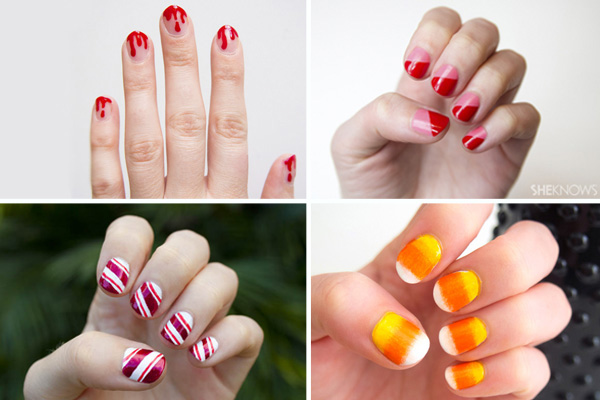 Holiday themed nail art | Sheknows.com