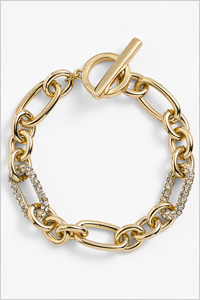Anne Klein Pave Link Bracelet (Nordstrom, $36)