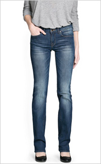Straight-Fit Christy Jeans (Mango, $69)