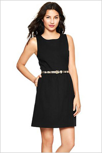 Sleeveless Fit & Flare Dress (Gap, $60)