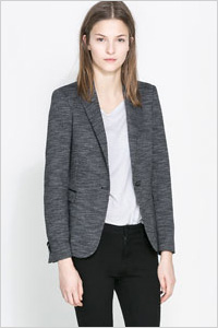 Marl Blazer (Zara, $90)