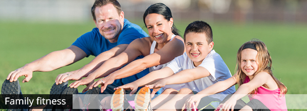 Get fit as a family!