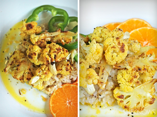 Orange Roasted Cauliflower Recipe