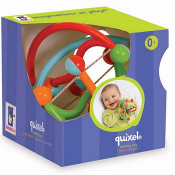 Recalled Manhattan Toy Quixel rattle