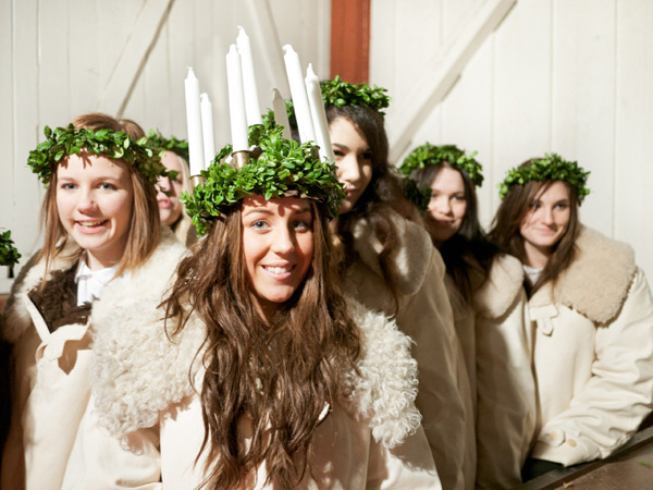 St. Lucia's Day in Sweden