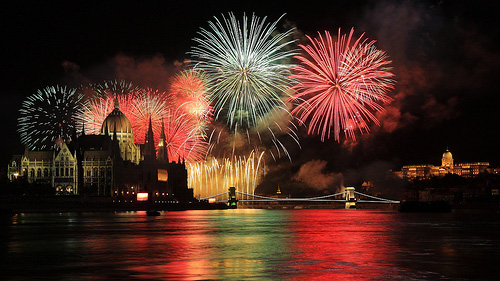 New Year's Eve in Budapest