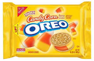 Candy Corn Oreos