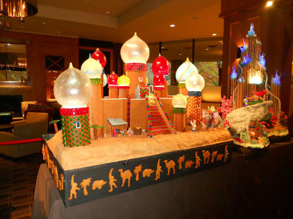 Sheraton Village's Gingerbread Villag