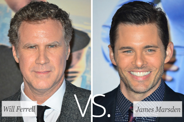 Who's Hotter: Will Ferrell vs. James Marsden