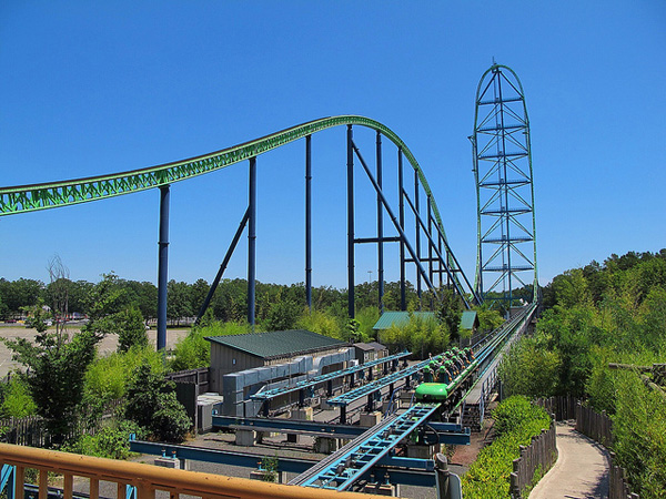 the biggest roller coaster in the world 2014
